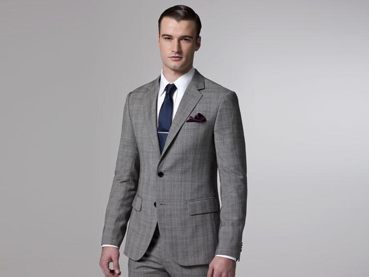 Skinny Wool Suit | My Dress Tip