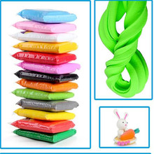 12piece lots 12 color non toxic DIY hand 5D ultra light clay Can be air dried