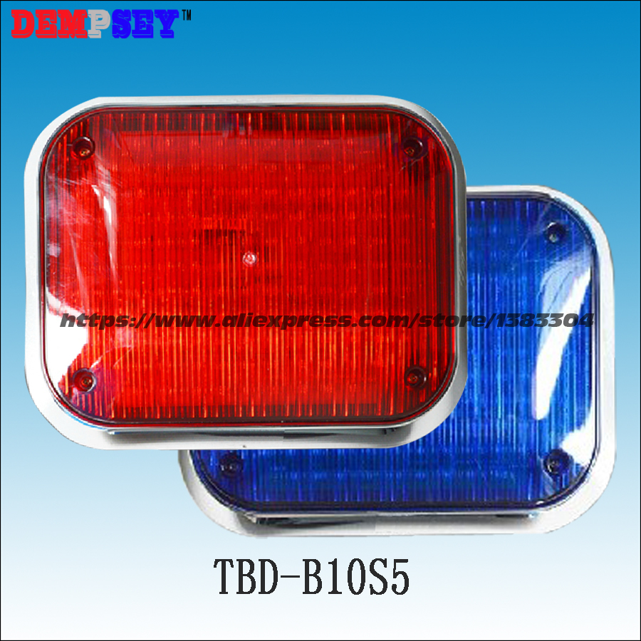 Dempsey 2X134 Flash LED Light Red Blue Police Beacon Light Surface Mount Signal Lamp LED Warning Light for Car(TBD-B10S5) a975got tbd b a975got tba ch a975got tbd ch touch pad