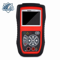 Nowy Autel Autolink AL439 OBDII Narzędzie Diagnostyczne Auto Multimetr AVOMeter Skaner Kolorowy Ekran Testy Elektryczne Silnik Code Scanner