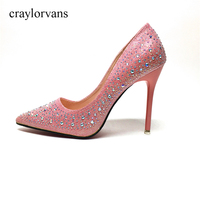 Brand Shoes Woman High Heels Pumps Red High Heels Sexy Women Shoes High Heels Wedding Shoes