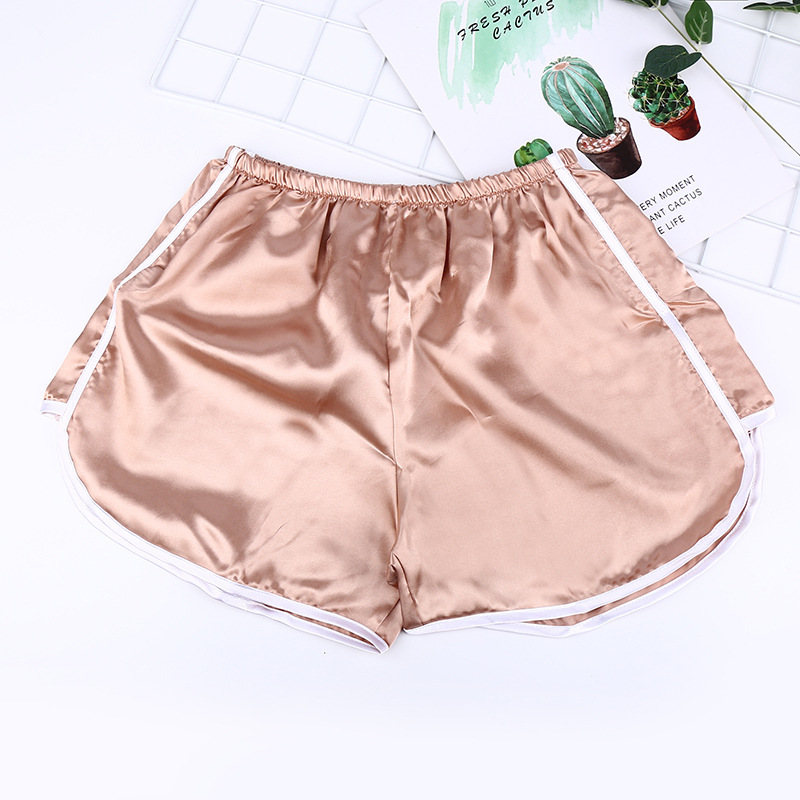 Brief Relate Summer Women Casual Shorts Durable Shorts Fashion Female White Edge Design Rose Gold White Black 3 Colors in Shorts from Women 39 s Clothing