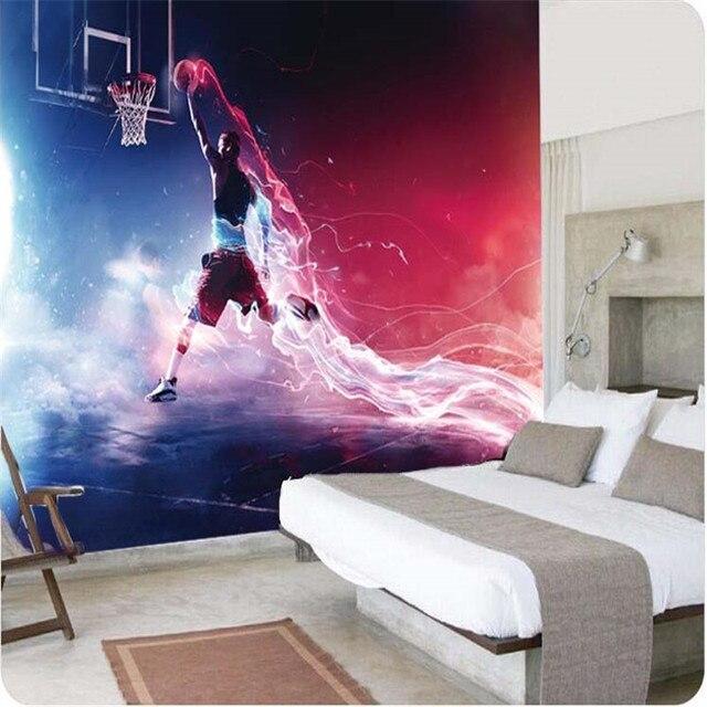 3d wallpaper Fast and furious dunk basketball Art Gallery mural ...