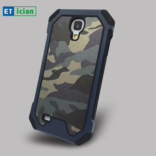Фотография For Samsung Galaxy S4 Case 2 in 1 PC+TPU Army Camouflage Hard Back Cover For Samsung S4 Phone Cases Accessories