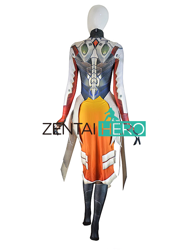 ZentaiHero 3D Басып шығару Mercy Costume Armored W Strips - Костюмдер - фото 6