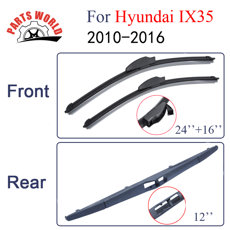 REAR WINDSCREEN WIPER BLADE FOR HYUNDAI IX20 2010-305MM 12/""