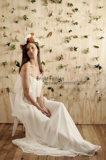 Plain Simple Wedding Dresses for the Beach