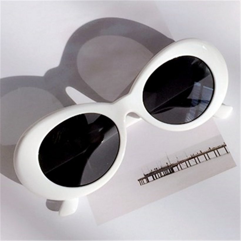 Vintage NIRVANA Kurt Cobain Round Sunglasses For Women Men Mirrored Glasses Retro Female Male Sun Glasses UV400 Goggles