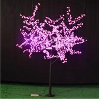 1,8 метров 864 светодиодов Праздничные огни, огни украшения Peach blossom дерева огни бесплатная доставка для Europ/Северная Америка