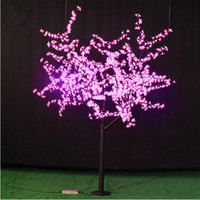 1.8Meters 864LEDS holiday lights decoration lights Peach blossom tree lights free shipping for Europ/North America