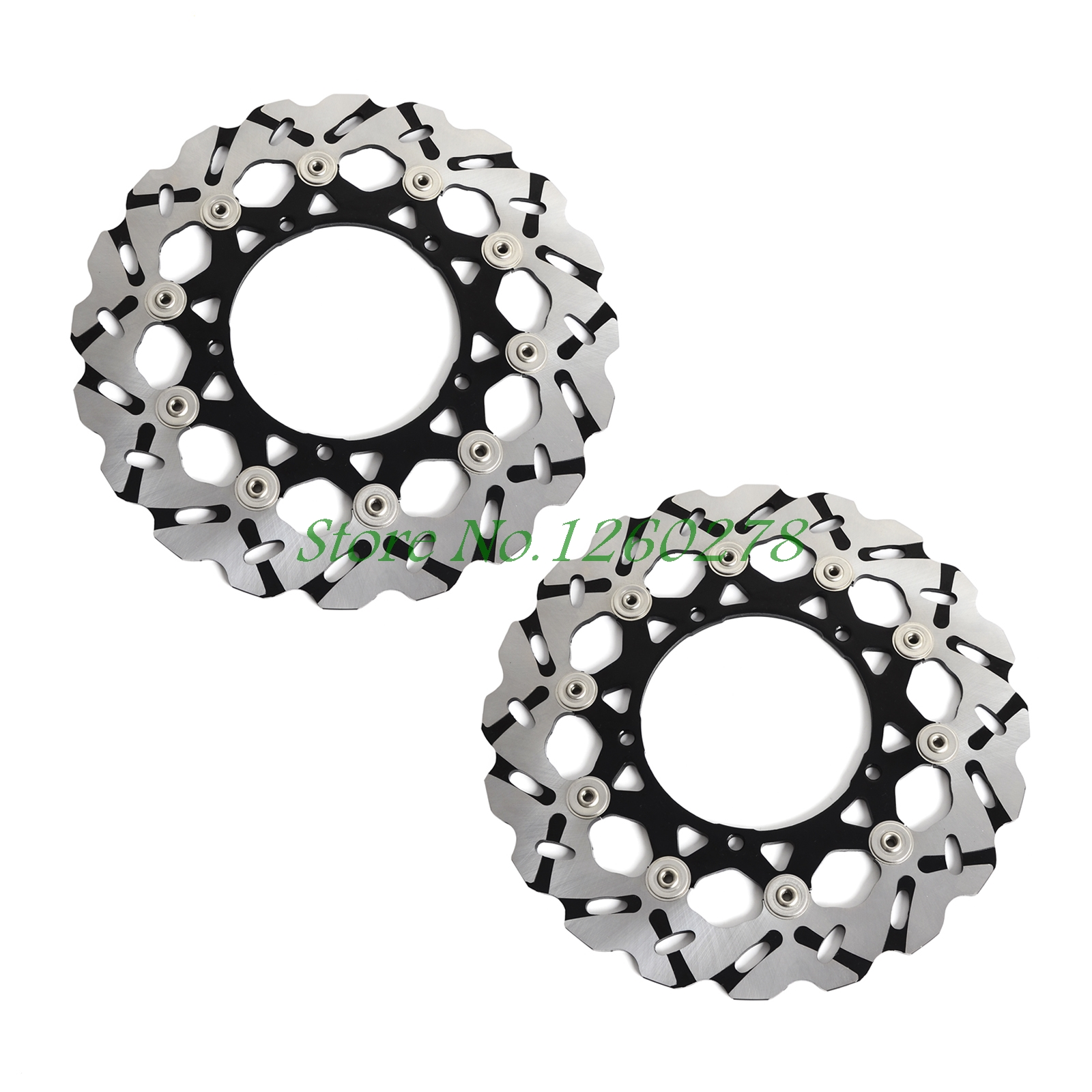 New Motorcycle Front Rotor Brake Disc For Yamaha V MAX 1700 2009 2010 2011 2012 2013 2014 2015 2016 new motorcycle front rotor brake disc for yamaha xp500 t max500 2008 2011 tmax500 530cc 2012 2014 xp530 2013 2014