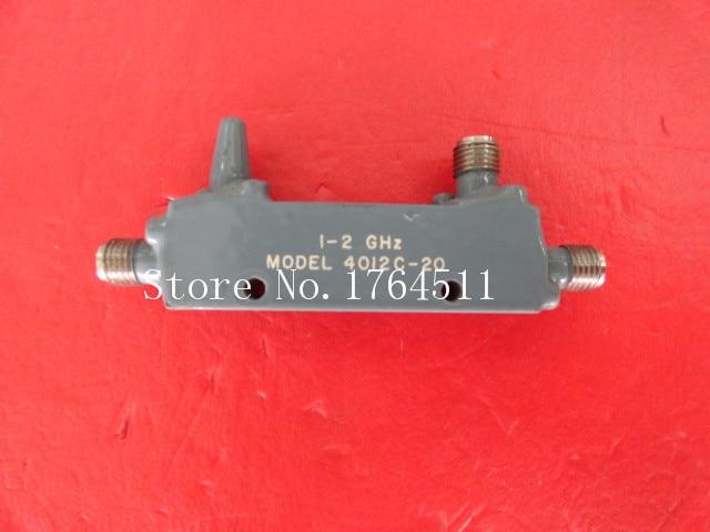 [BELLA] Narda 4012C-20 1-2GHz 20dB SMA Supply Coupler