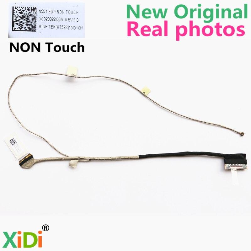 NEW Original DC02002200S LCD CABLE FOR ASUS N551 N551J N551JX N551JK N551JW N551JM N551JQ GL551 LCD LVDS CABLE tisa sport step n9099