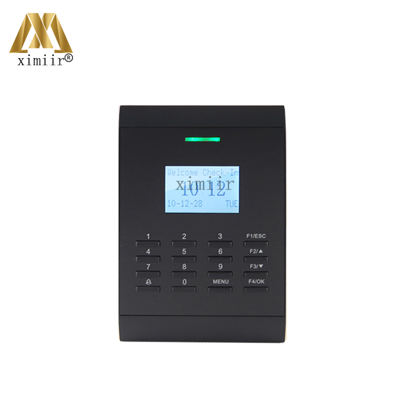 ZK SC403 Biometric Card Access Control Standalone Access Control With 125KHZ RFID Card Reader Smart Card Access Control System rfid standalone access control card reader with digital keypad 125khz 13 56mhz smart card lock with lcd screen for secure system