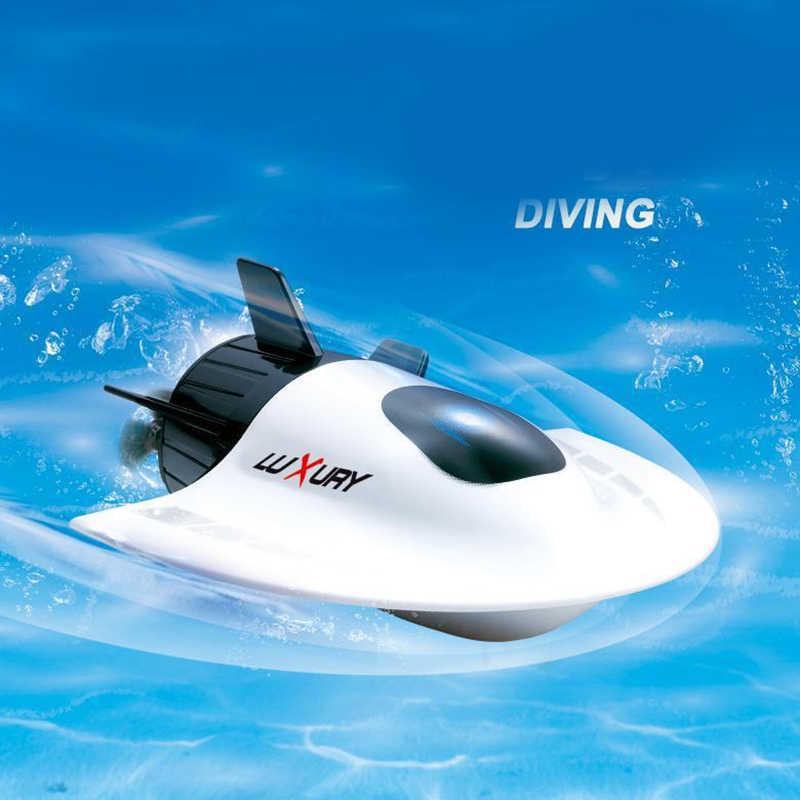 Rc סירת צעצועי מיני ספורט ילדי מים צעצועי אביזרי Rc סירת יאכטה דגם רדיו בקרת צעצועי בני סירת Rc זול מתחת למים