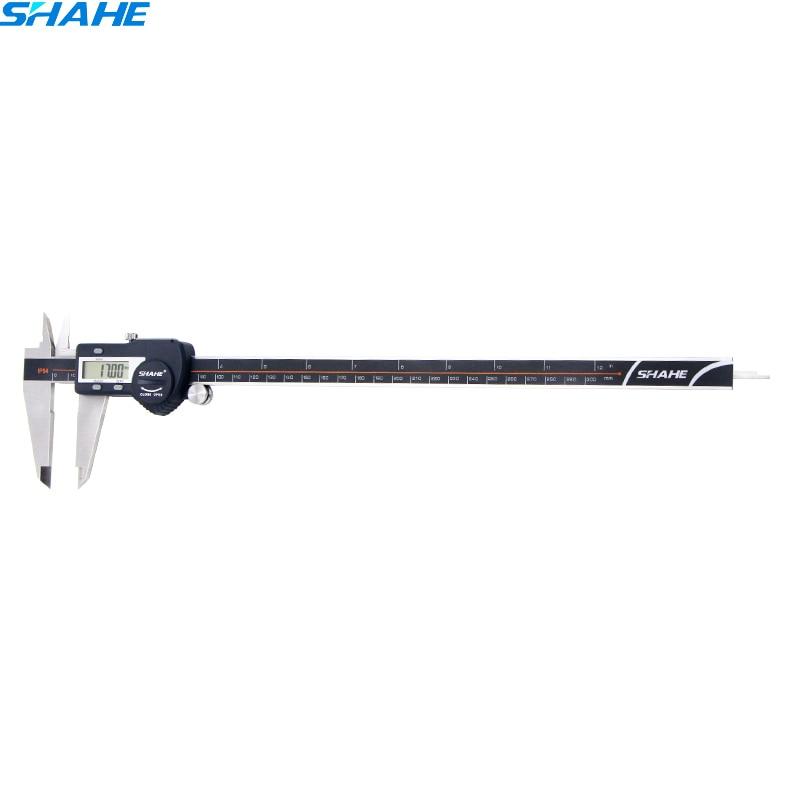 IP54 0-300mm calibro digitale elettronico righello digitale compasso a nonio calibro di 300mm calibro digitale in acciaio inox pinze