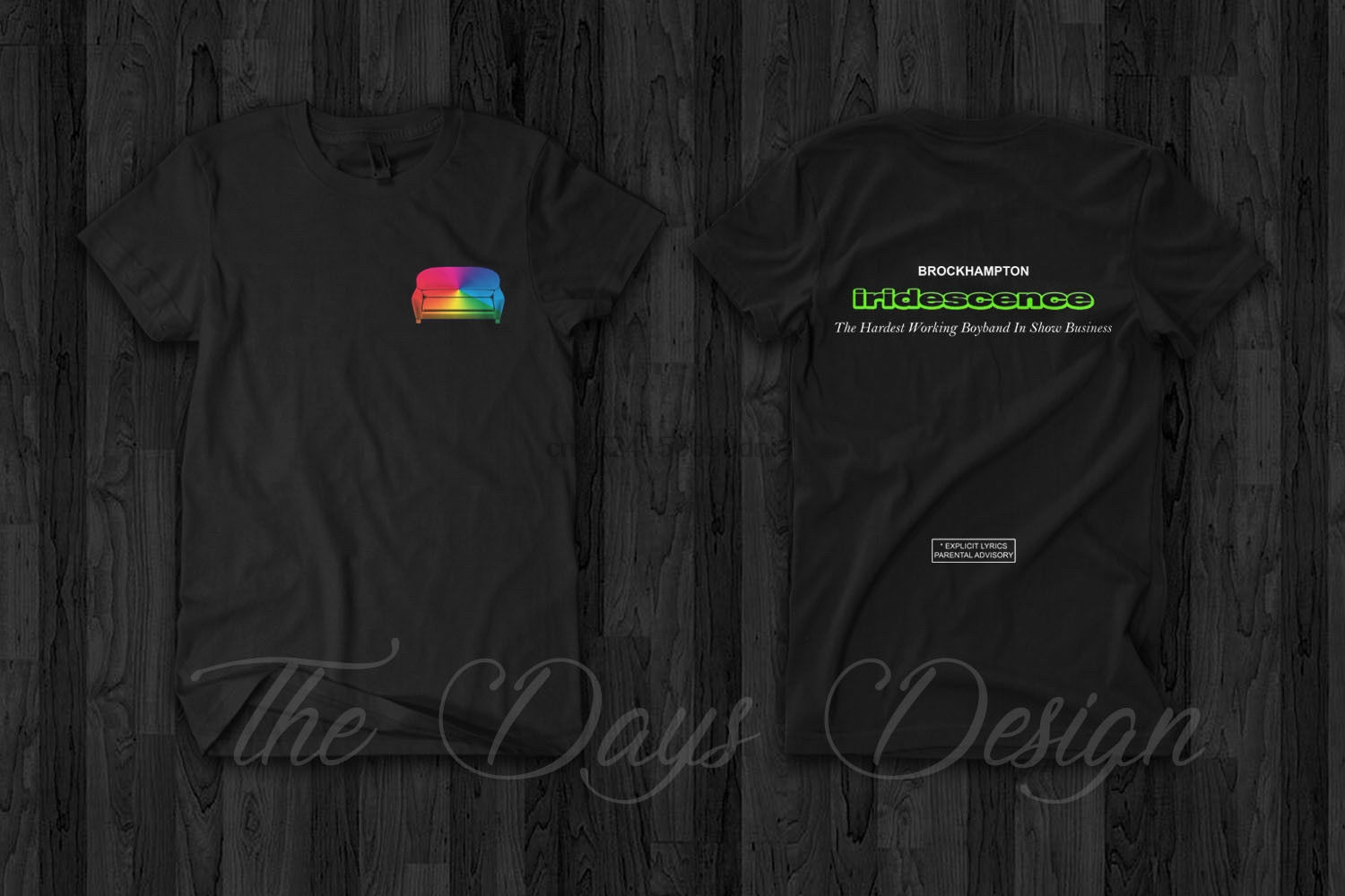 Fabulous Us 12 99 Brockhampton Iridescence Couch Logo Ill Be There Tour 2018 T Shirt Saturation In T Shirts From Mens Clothing On Aliexpress Caraccident5 Cool Chair Designs And Ideas Caraccident5Info