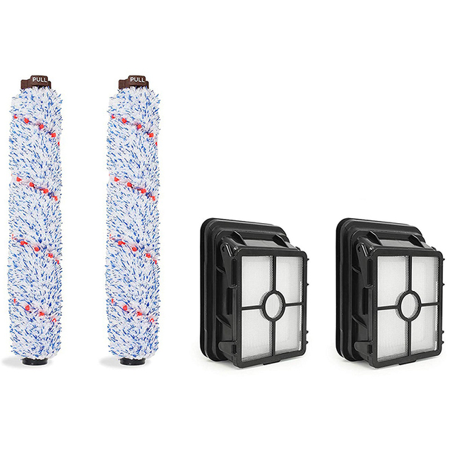 Pinsel Rolle & Vakuum Filter Teile Für Multi Oberfläche Bissell Crosswave 1785 G/V/W Serie-in Reinigungsbürsten aus Heim und Garten bei