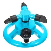 Automático móvel ajustável 360 graus rotativa spray jardim gramado sprinkler parque jardim automático regador de água