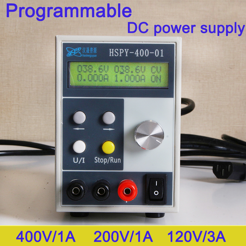 Programmable Laboratory DC power supply 0 400V 0 20A Adjustable switching power Source