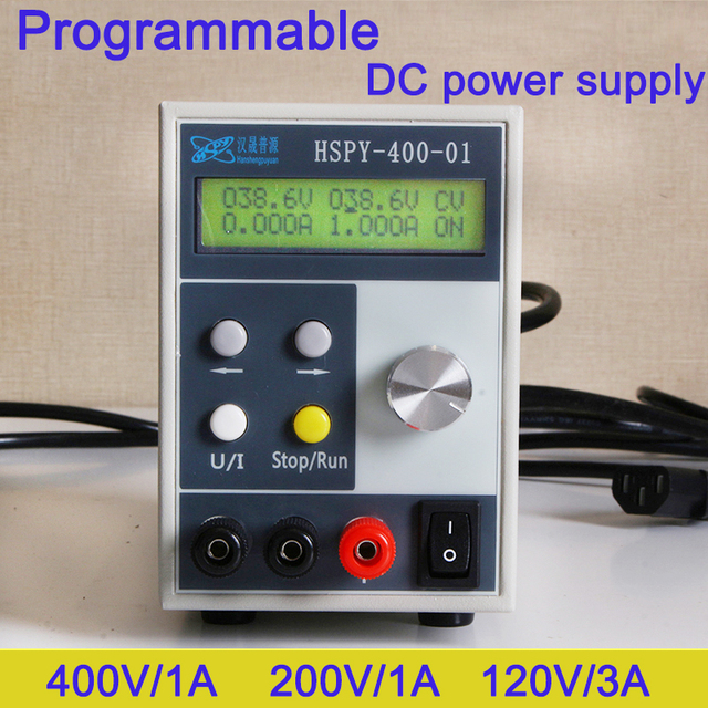 Programmable Laboratory DC power supply 0-400V 0-20A Adjustable switching power Source