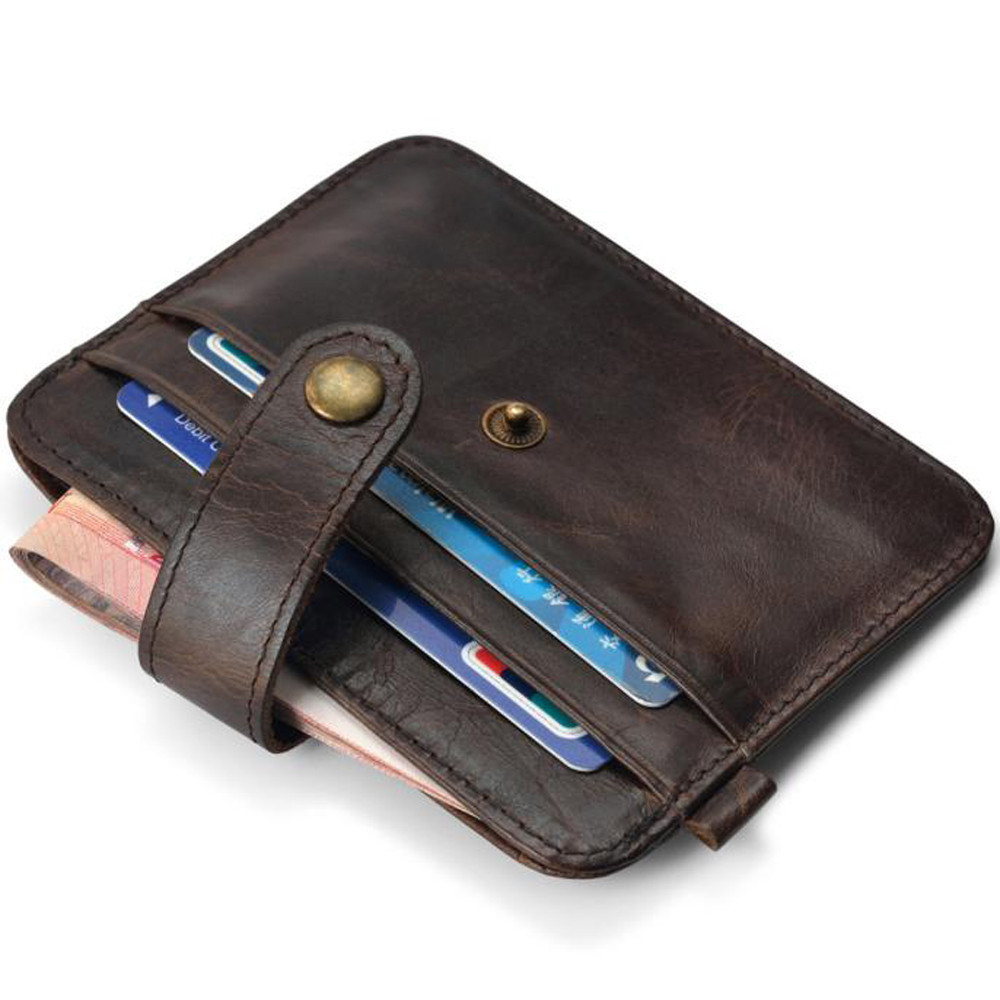 Slim Credit Card Holder Mini Wallet ID Case Purse Bag Pouch  Fashion 2018 Men Wallets Mens Wallet With Coin Bag Zipper Small P#