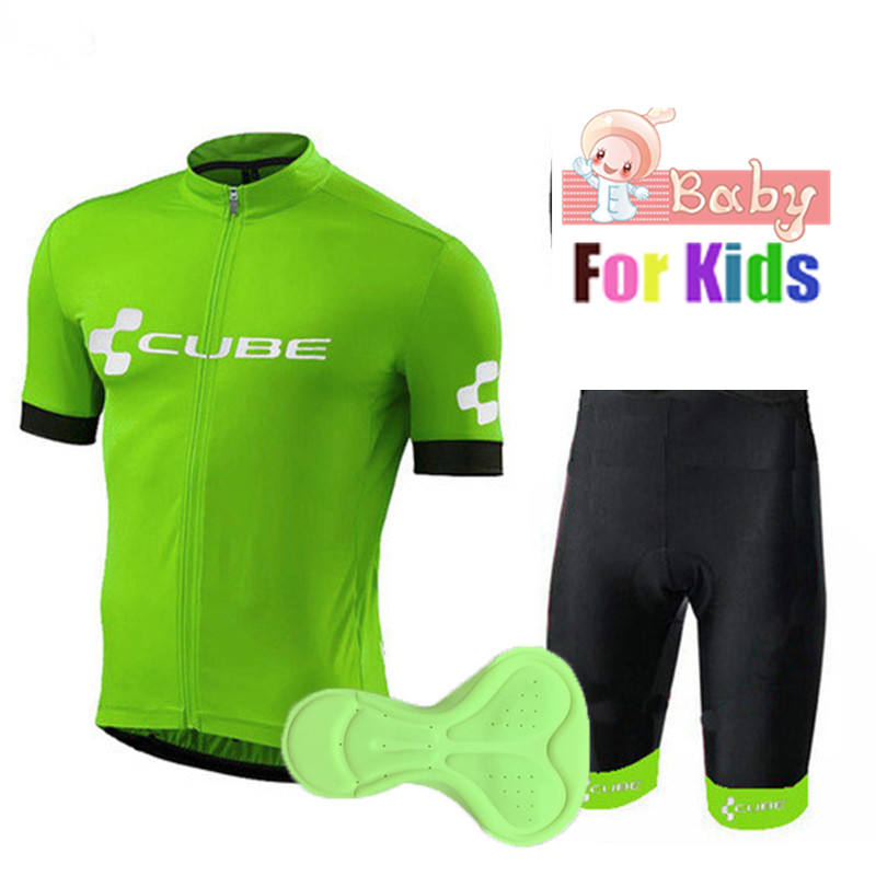 2018 Small Boys Cycling Jersey Set for Kids Team Children Cycling Kits  Sports Outdoor MTB Mini Bicycle Children s Clothing Sets ffe6eb956