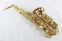 MARGEWATE High Quality Alto Eb Saxophone Professional Musical Instrument Brass Gold Lacquer Sax Pearl Buttons With Case