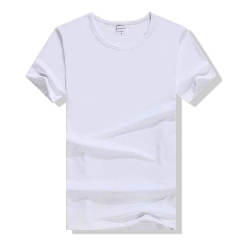 Short sleeves men's shirt tidal pure cotton summer semi-sleeve personality hit bottom sweater Korean version of youth