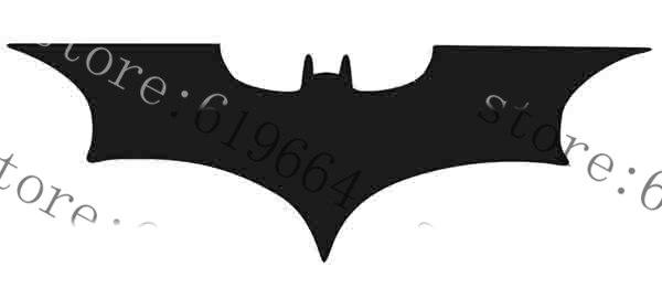 Batman Dark Knight Logo Stencil-A4//A5//A6