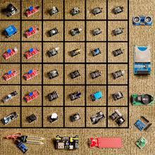 Arduinoのための 1 で 45 センサーモジュールスターターキットよりも 37in1 センサーキット
