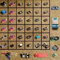 Para arduino 45 en sensores 1 módulos de Kit de arrancador de mejor que 37in1 de kit sensor