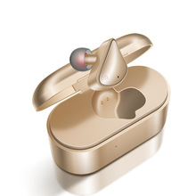 New Mini Wireless Headset With Charging Box Bluetooth Earphones Single Ear In Commercial Handsfree Soft Earbuds