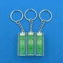 Haccury размер 40*15*15 мм брелок уровень квадратный уровень с суб-цепями зеленый цвет для фоторамки настенные подвесные ТВ