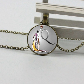 Queen Freddie mercury necklaces and pendants gift for queen fan, vinyl, guitars selection music, british rock, rock band, recor image