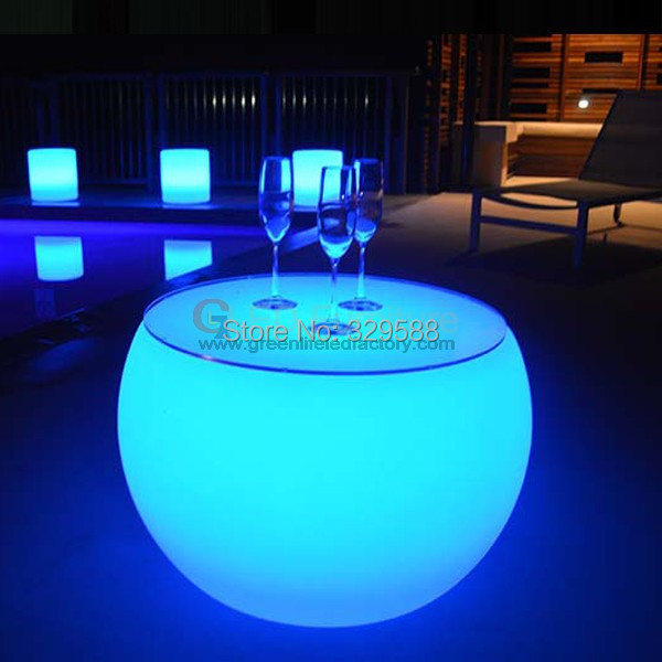 RGB Lumilux Plastic Led Furniture Light Up Outdoor Led Table for Garden  Party Wedding Pub DJ house-in Bar Tables from Furniture on Aliexpress.com    Alibaba ... - RGB Lumilux Plastic Led Furniture Light Up Outdoor Led Table For