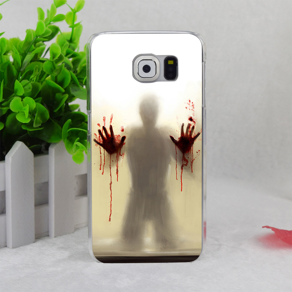 Scary shower curtain - A0785 Scary Shower Curtain Transparent Hard Thin Case Cover For Samsung Galaxy Note3 Note4 Note5 A3