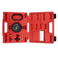 A0016 Vacuum Amp Fuel Pump Pressure Tester Pressure Gauge Test Tool Kit Carburettor Valve TU 1