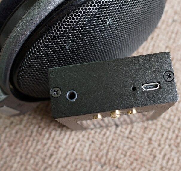 Wooeasy bricolage Zishan DSD AK4497EQ lecteur de musique professionnel sans perte HiFi portable lecteur MP3 Solution dure 2.5 amplificateur équilibré - 4