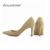 LOSLANDIFENClassic Sexy Punta estrecha mediados Tacones Altos Mujeres Bombas Zapatos de Boda de Imitación Gamuza Bombas de Gran Tamaño 35-42 10 Color 952-1VE