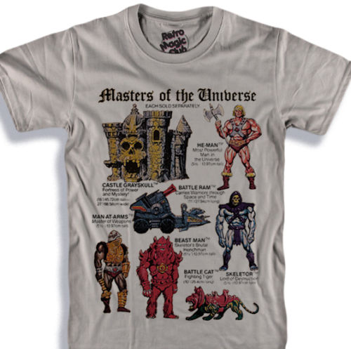 Motu T-Shirt Skeletor-He-Man-Beastman-Man At Arms-Masters Of The Universe Mocnew Design Men Tee Shirt Tops Short Sleeve