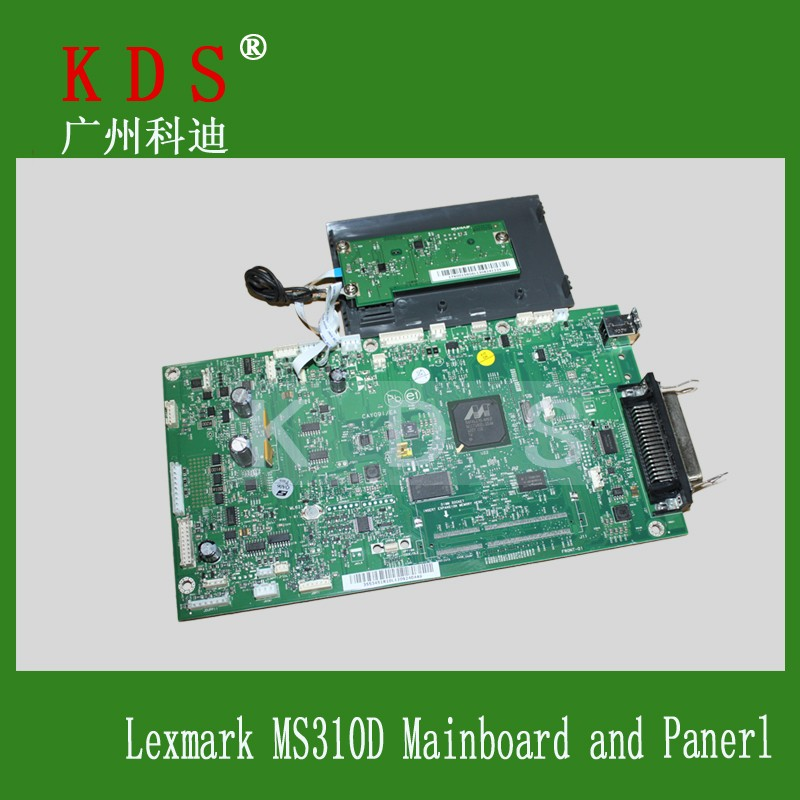 OEM Printer Spare Parts Logic Card Control Panel 40x8026 for Lexmark MS310D Formatter Board Main Board & Panel