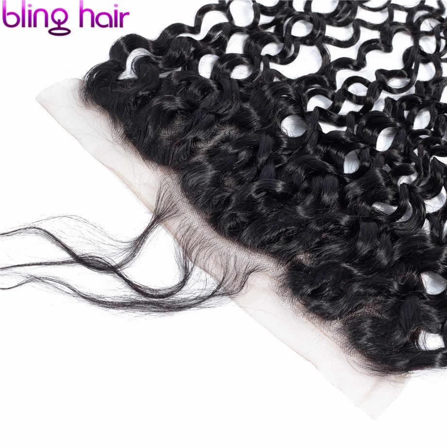 Волнистые волосы, волнистые волосы, 13x6, кружева, Фронтальная застежка, предварительно сорванные бразильские волосы Remy, 100%, человеческие волосы, закрытые с волосами младенца, натуральный цвет