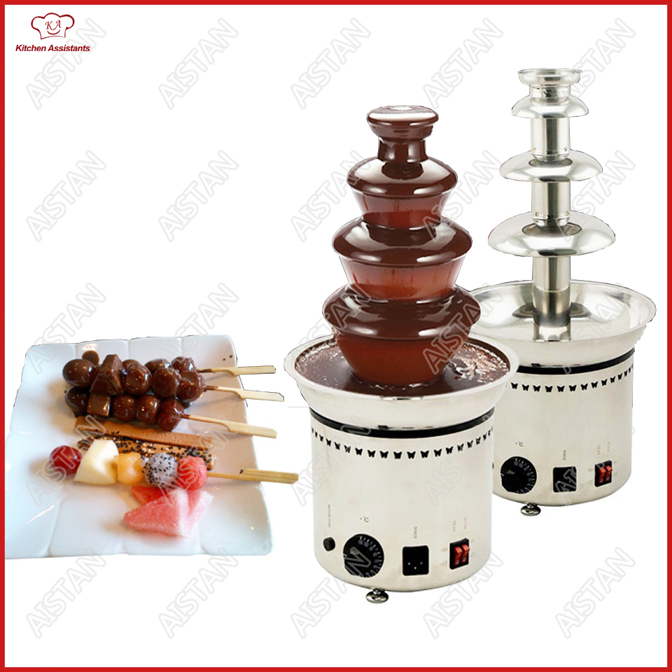 DH Series Electrical Chocolate Fountain Chocolate Melt Fondue waterfall Machine 4/5/6/7 Layers Hotel and Buffet Equipment manitobah унты keewatin mukluk женск 6 chocolate коричневый