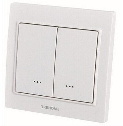 tz55d wireless intelligent lighting switch zwave dual paddle wall switch mhzeu