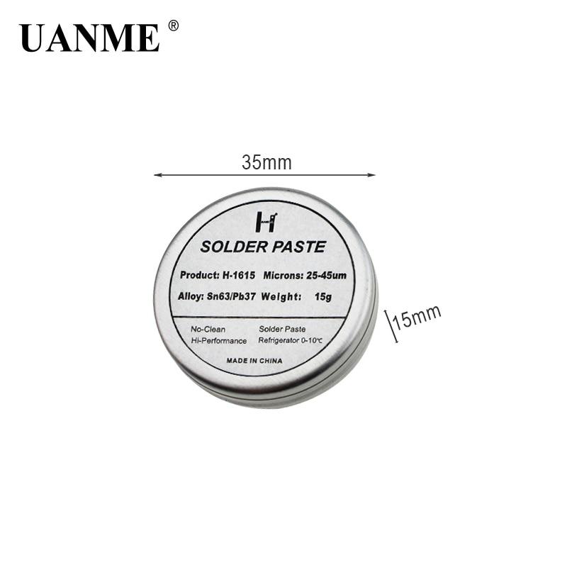 Купить с кэшбэком UANME Soldering Tips Tinner Refresher Soldering Iron Oxide Paste for Solder Iron Tip Head Resurrection Soldering Acessory