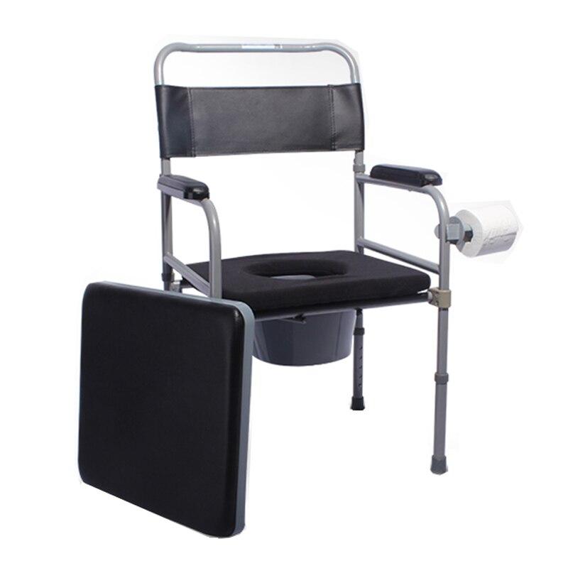Erwachsenen Kommode Pflege Zu Hause Wc Töpfchen Nacht Stuhl Faltbare Kommode Stuhl Für ältere Oder Behinderte