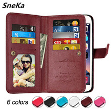 Flip Case For Sony Xperia XA1 Plus Phone Case on XA1+ Cover Leather Wallet Multicard 360 Protection For Sony XA1 Plus G3412 Case