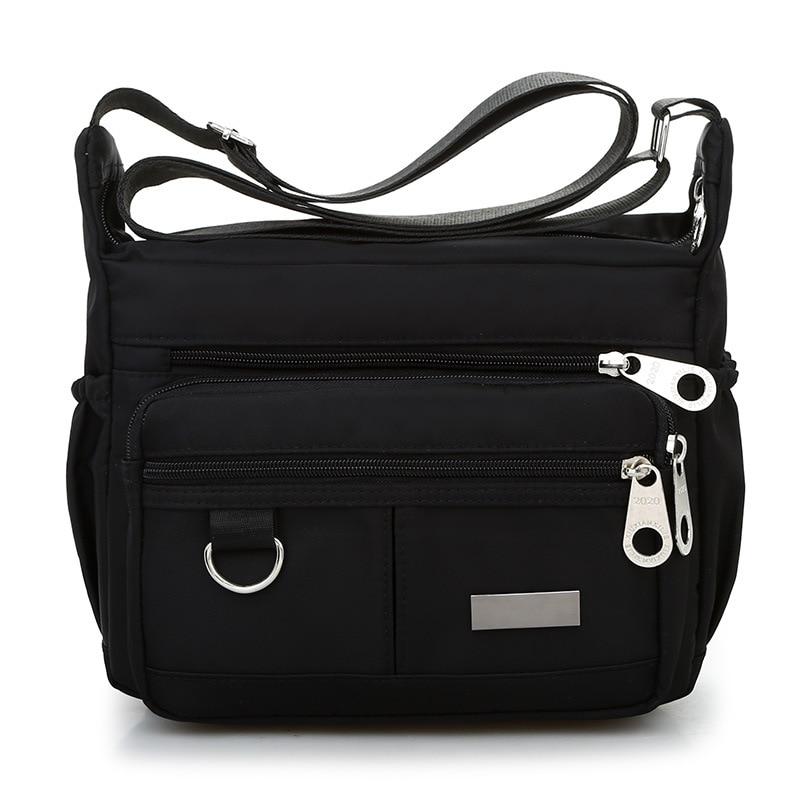 New Women Messenger Bags For Grils  Waterproof Nylon Handbags Female Shoulder Bag Ladies Crossbody Bags Bolsa Sac A Main