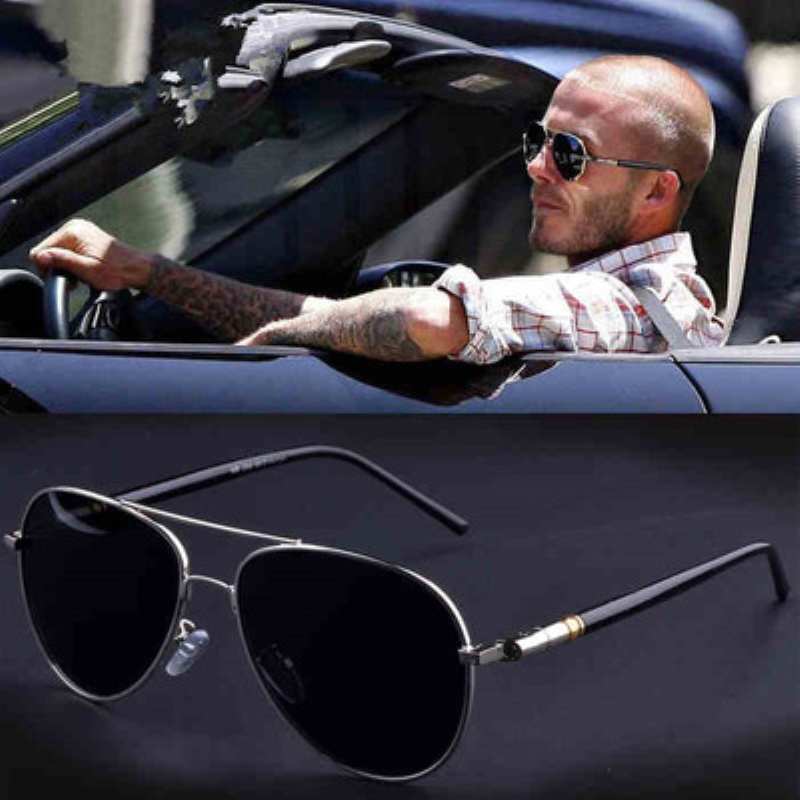 JEMSDAW 2009 New Classic Hot Selling Mens Polarizing Sunglasses Metal Spring Leg Driving UV400